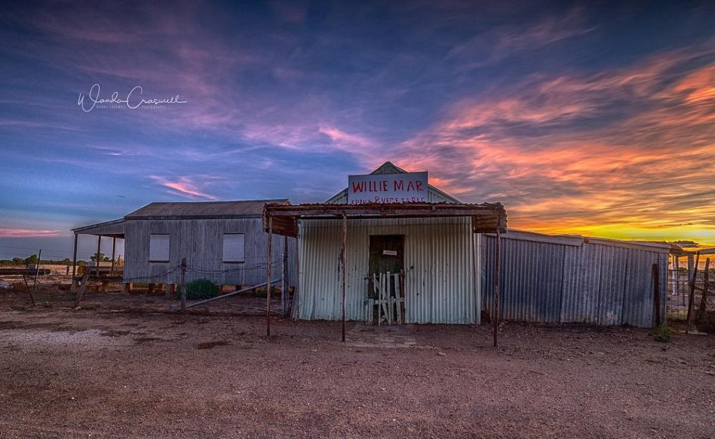 Willie Mar's at Sunset by Wanda Craswell Photography