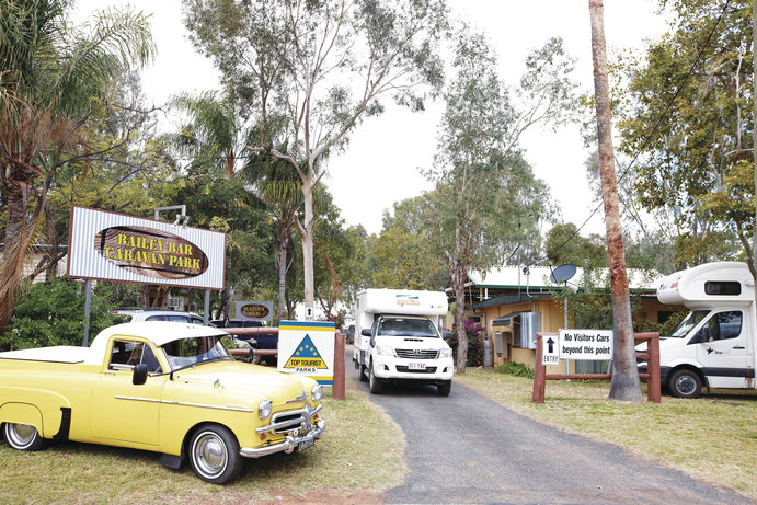 Bailey Bar Caravan Park | 8 pet-friendly accommodation options in Outback Queensland