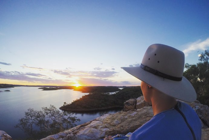 Lake Moondarra | 48 hours in Cloncurry