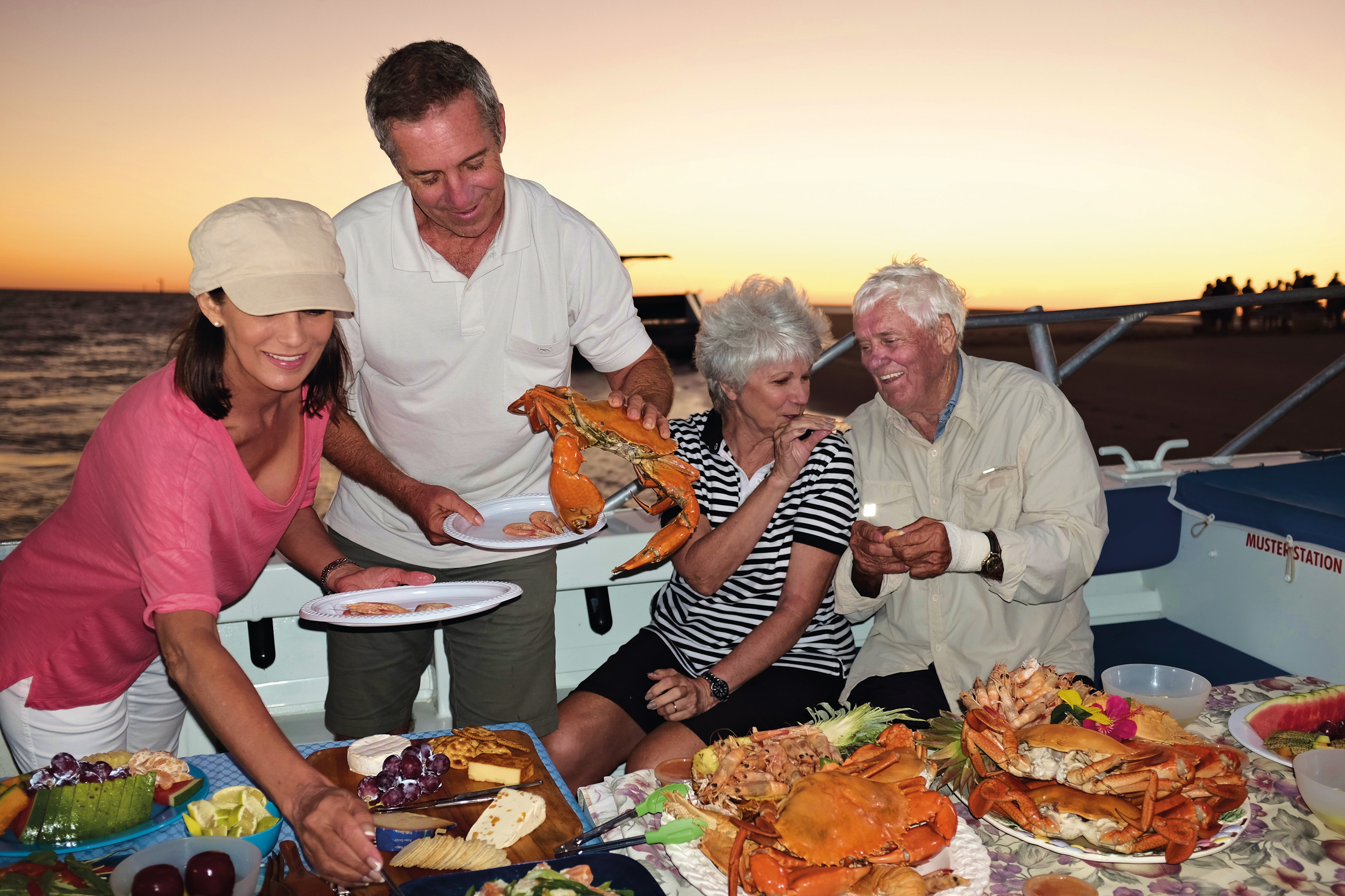 Fresh seafood is one of Karumba's many delights, stop by a local shop or catch your own!