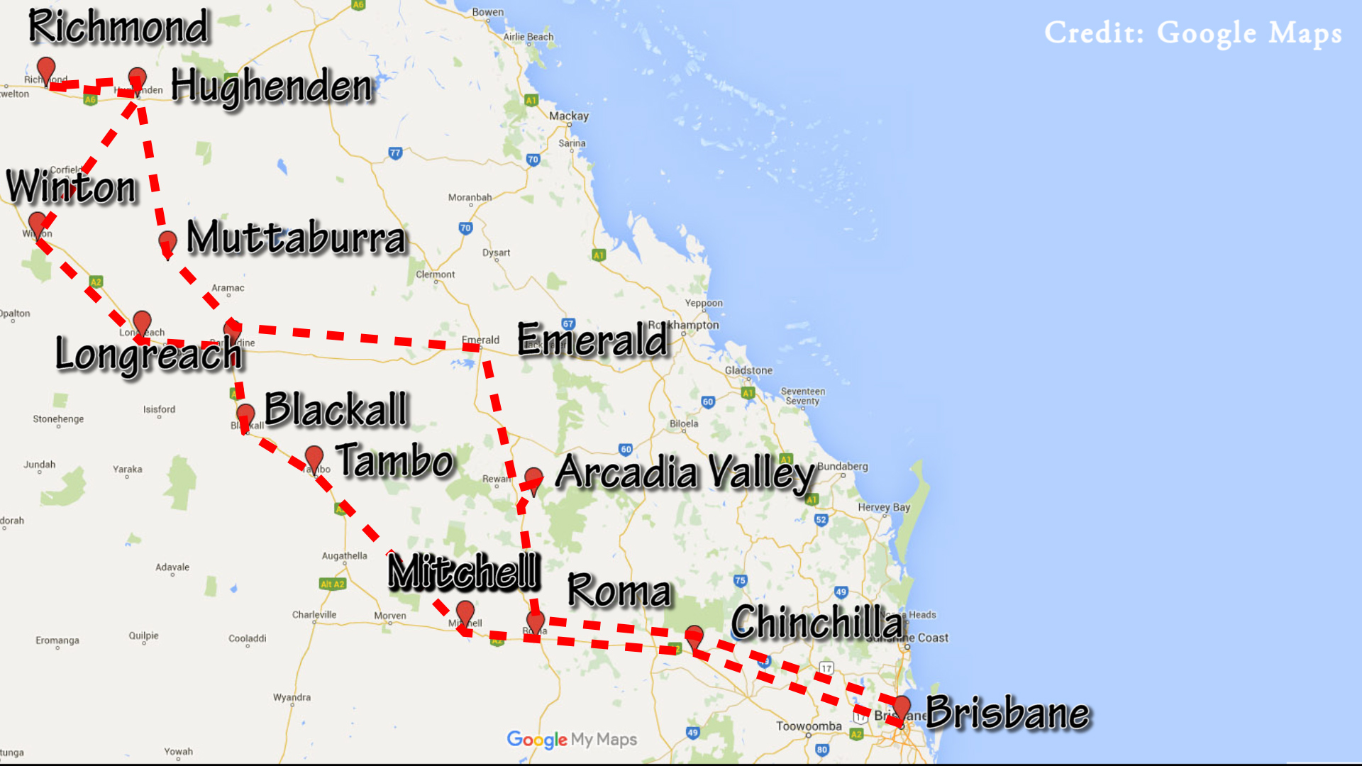 Outback Queensland Road Trip