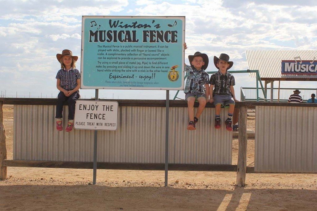 The Musical Fence, Winton