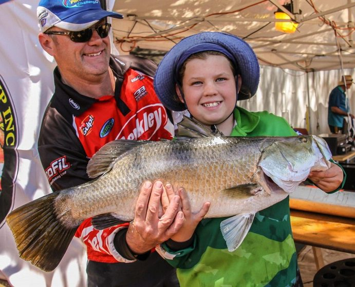 Junior Competitors Lake Moondarra Fishing Classic