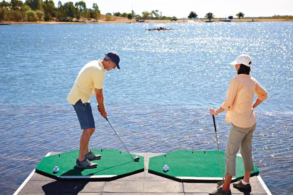 Lake Fred Tritton Hole in One