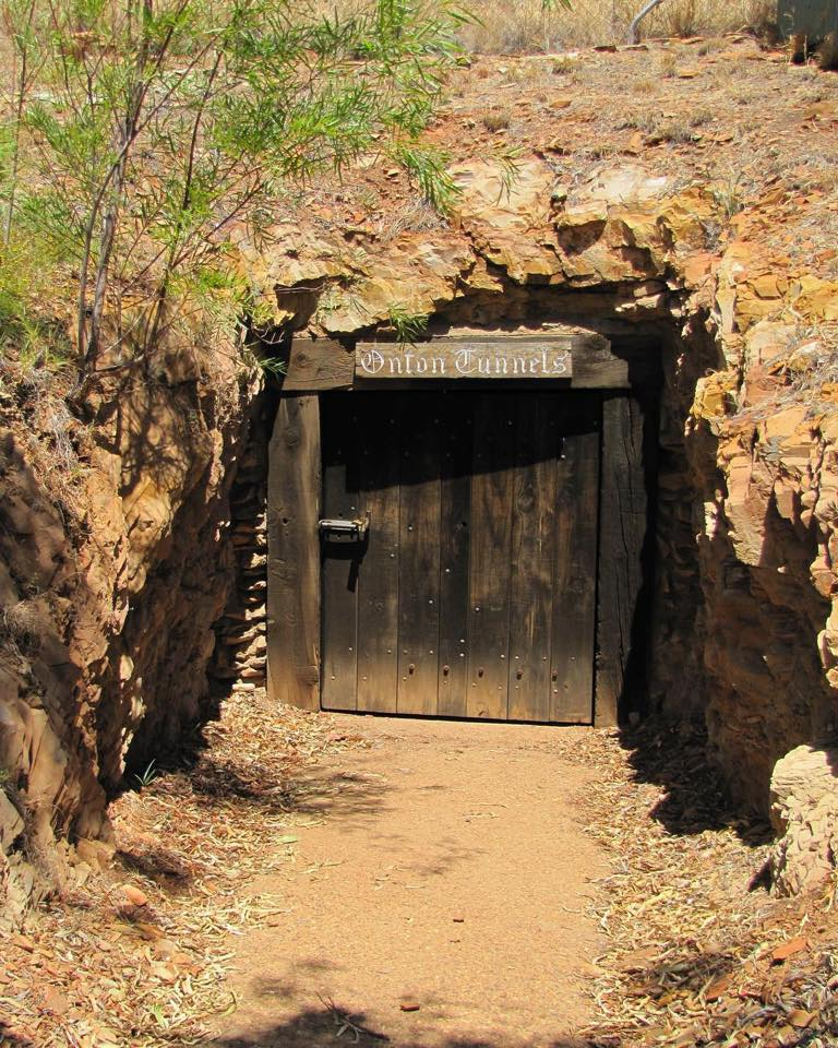 Entrance to the underground hospital. Photo provided by Queensland Heritage.