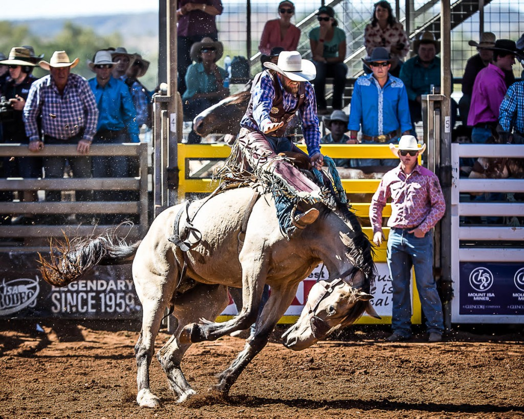 The Mount Isa Rodeo has been a legendary event since 1959.