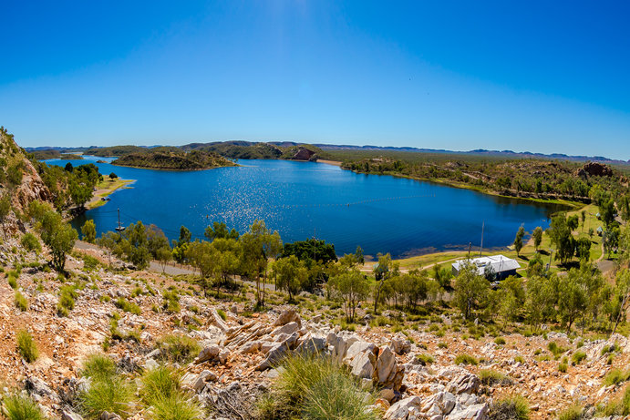 Lake Moondarra | 9 more Outback Queensland lookouts you need to visit
