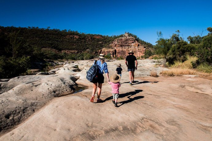 Porcupine Gorge |8 ways to survive at Outback Queensland summer