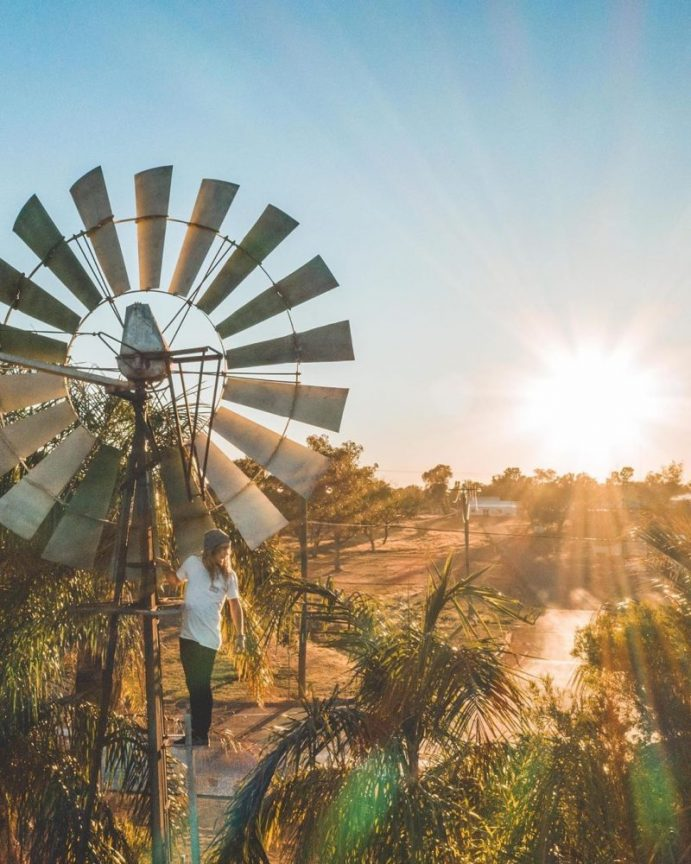 Charleville Windmill | 17 must get Instagram shots of Outback Queensland