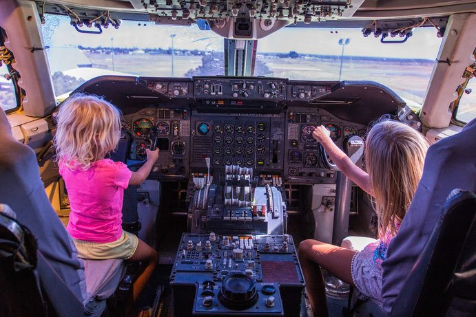 Qantas Founders Museum | 6 things to do on school holidays in Outback Queensland