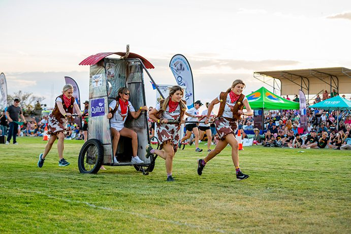 Outback Festival Dunny Derby Winton   10 things you didn't know about Winton