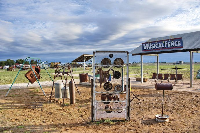 Musical Fence |11 things you didn't know about Winton