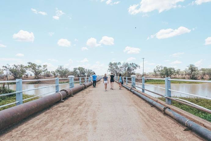 Thomson River | 48 Hours in Longreach