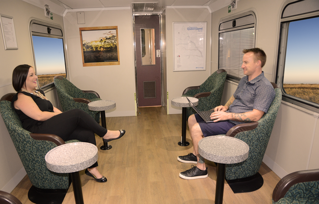 Inlander Train Lounge- Queensland Rail