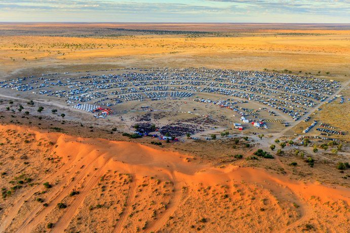 Big Red Bash | 7 reasons to see Outback Queensland from above