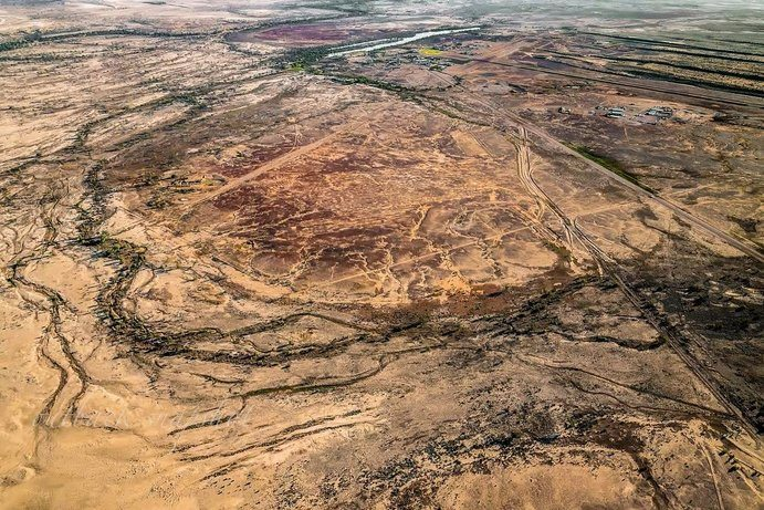 Birdsville | 7 reasons to see Outback Queensland from above