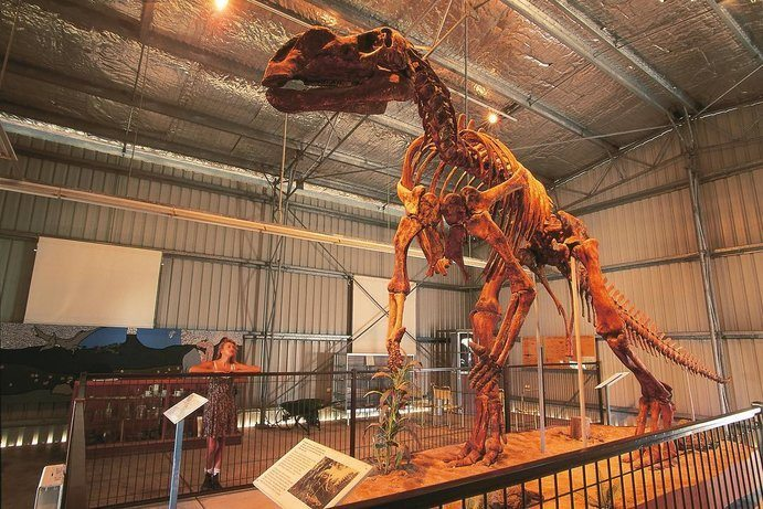 Flinders Discovery Centre | 7 ways to see a dinosaur in Outback Queensland