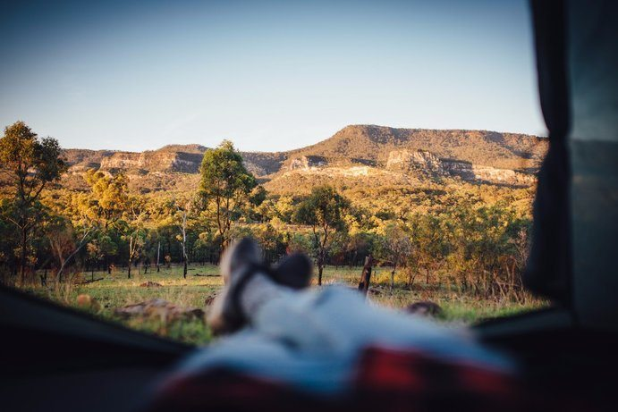 Sandstone Park | 11 places to park your caravan in Outback Queensland