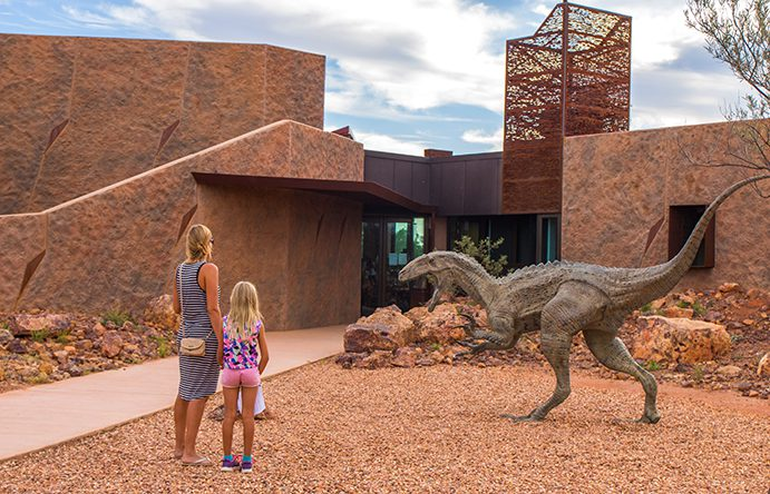 Australian Age of Dinosaurs | | Find your perfect Outback road trip
