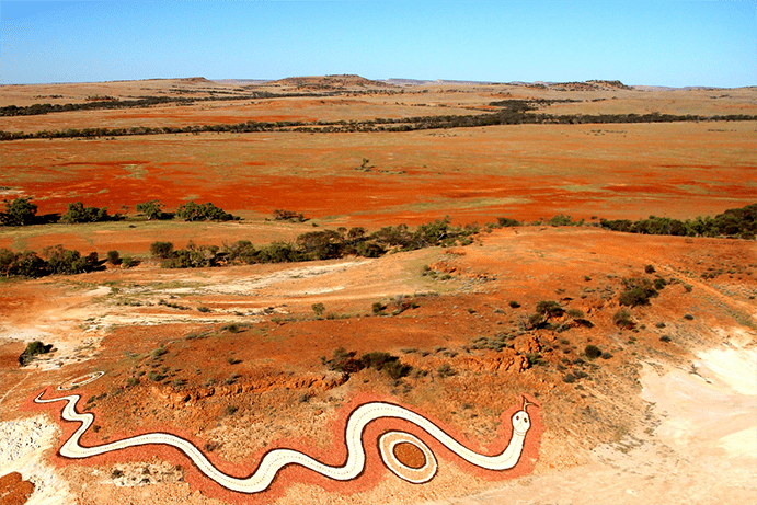 Betoota Serpent | Galleries & public art in the outback