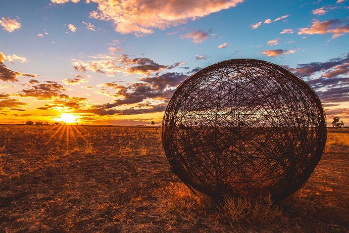 Blackall Roly Poly | Galleries & public art in the outback