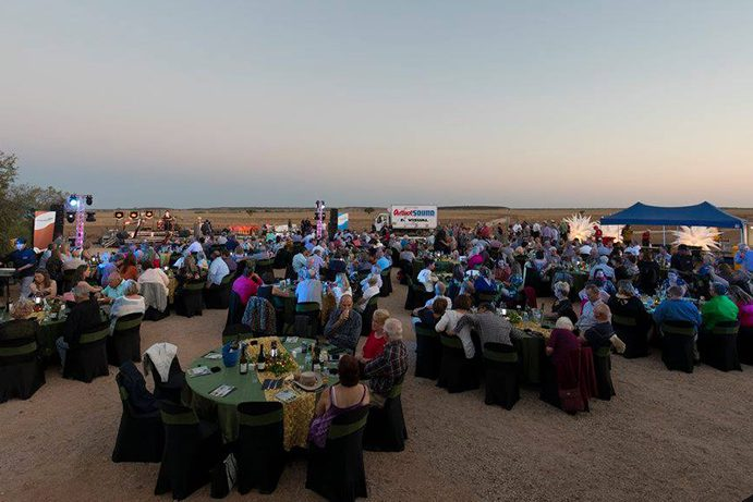 Outback Festival Sunset Dinner | Everything you need to know about the Winton Outback Festival