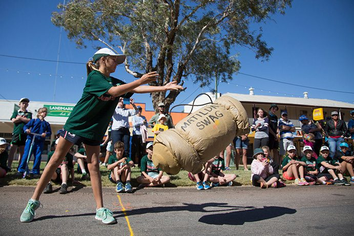 Swag throwing at Outback Festival | Everything you need to know about the Winton Outback Festival