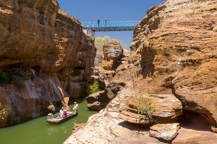 Cobbold Gorge Bridge | What's New in Outback Queensland in 2020